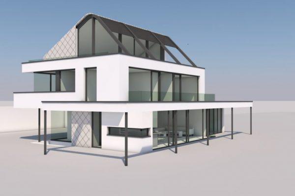 Wohnhausentwurf SCH4